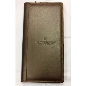 40 PEN LEATHER CASE TRADITIONAL BROWN