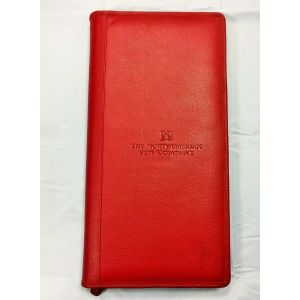 40 PEN LEATHER CASE CLASSIC RED