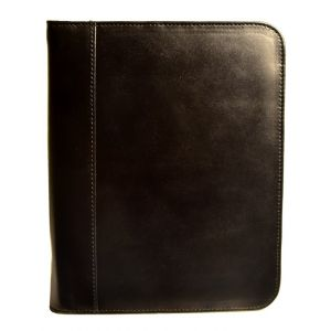 Aston Leather Collector's 20 Pen Case - Black