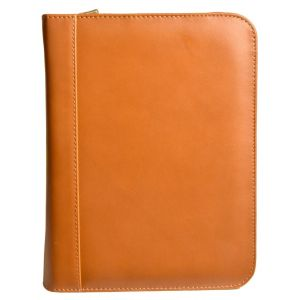 Aston Leather Collector's 20 Pen Case - Tan