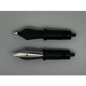 JoWo(#12) F tip, Polished Steel Nib Unit Size 6