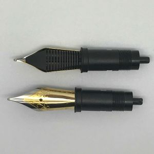 Jowo F tip, Two Tone Steel Nib Unit old style Size 6