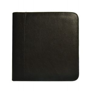Aston Leather Collector's 6 Pen Case - Black
