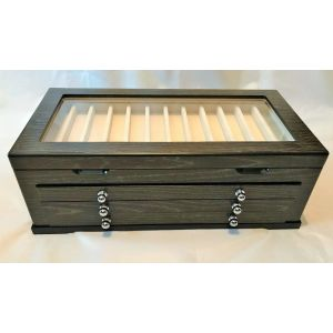 45 PEN BLACK ASH DISPLAY CHEST