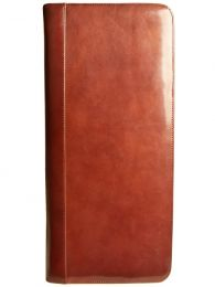 Aston Leather Collector's 40 Pen Case - Brown