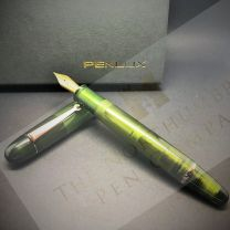 Penlux Masterpiece Grande Rain Forest Fountain Pen (f)